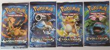 4 x Booster Pokemon XY Evolutions OVP verschweißt NEU - jedes Artwork dabei
