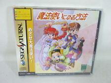 Sega Saturn MAHOUTSUKAI NI NARU HOHOU Brand New Japanese Game aaac ss