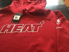 MENS NIKE NBA MIAMI HEAT HOODIE XXL RED NWT  WADE BUTLER