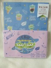 Kamio Toy Story Mr. Green men letter set NEW -935 blue