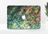 Marble Shell Macbook 12 Pro 13 15 Air 11 13 2018 Top Bottom Printed Cover Case