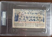 1954 Cleveland Indians Autograph Team Photo (7 Signatures, AL Champs) PSA/DNA