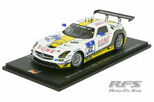 Mercedes-Benz SLS AMG GT3 - 24h Nürburgring 2015 - ROWE Racing 1:43 Spark SG 192