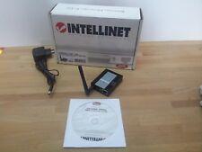 Intellinet Wireless 1-Port USB Servidor de Impresión - 802.11g USB 2.0 -