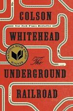 The Underground Railroad by Colson Whitehead (2016, Hardcover)