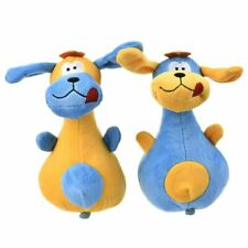 Dog Toy Bowling Pin Shape Plush Pet Toys Safety Vocal Cat Fun Pets Chewing Teeth