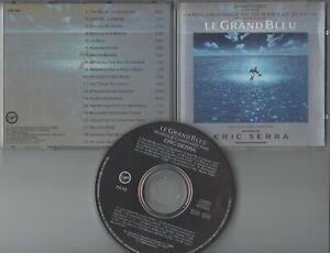 Eric Serra  CD-SOUNDTRACK LE GRAND BLEU    ©   1988  Virgin  / NO BARCODE