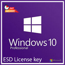 Licenza Microsoft Windows 10 Pro 32/64 Bit  MULTILINGUA Full ESD key