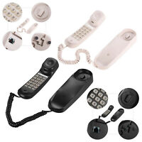 Mini Desktop Corded Home Telephone Landline Phone for Hotel Business Use New
