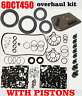 MPS6 Overhaul kit,6DCT450 Seal and gasket set,overhaul set DCT,VOLVO,FORD,Filter