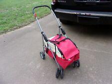 BestPet Pet Stroller 4 Wheels Posh Folding Waterproof Portable Travel Cat Dog