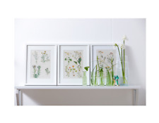 🖤 3 x IKEA WHITE RIBBA Picture Frame 40 X 50 cm Brand New 203.784.59 🖤