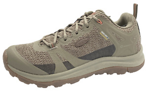Keen W Terradora II Trekking Shoes, Timberwolf/Coral, Womens 8.5M New W/O Box
