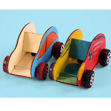 Creative Wooden Car puzzles Children DIY Educational Interactive Games Toys Kids