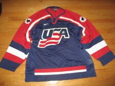 Nike 1998 USA Women's OLYMPIC ICE HOCKEY (LG)  Air-Knit Jersey