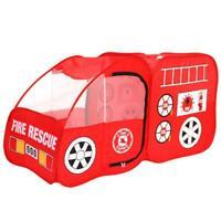 US Folding Portable Fire Engine Design Playpen Car Tent Kids Play Yard Outdoor