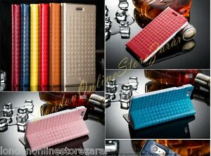 LEATHER WALLET CASE COVER FOR iPHONE & SAMSUNG GALAXY Mobile PHONE