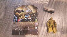 "Mighty Mini's DC Comics Batman vs Superman Series 1 GOLD SUPERMAN 2"" Figure dc"