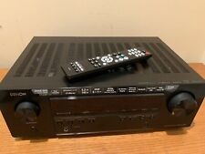 DENON AVR-S540BT 5.2-CHANNEL A/V SURROUND RECEIVER Tested & Ready