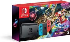 Nintendo Switch Mario Kart 8 Deluxe Bundle - In Retail Box - With Game Cartridge