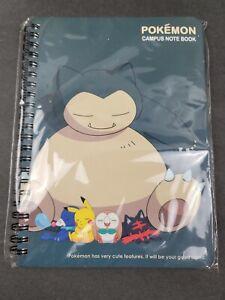 Pokemon Campus Note Taking Note Book - NIP