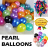 "10-100, Pearl LATEX BALLOONS, 10"", Helium. Party, Birthday, Wedding, Christening"