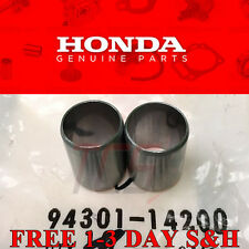 2 (pair) OEM Honda Acura Cylinder Head Dowel Pin OEM M14x20 D16 B18 Free Ship