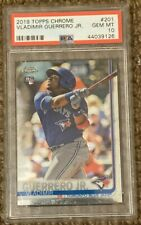 2019 Topps Chrome Vladimir Guerrero Jr RC Gem Mint PSA 10
