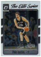 2016-17 Donruss Optic Basketball Elite Series #21 Pau Gasol Spurs