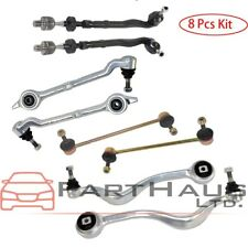 For BMW E39 Front Control Arm Ball Joint Bushing Tie Rod Sway Bar Links Kit 8pcs