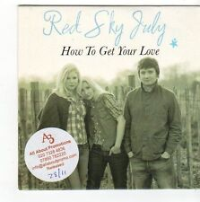 (FA6) Red Sky July, How To Get Your Love - 2011 DJ CD