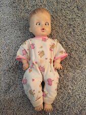 "Vintage Effanbee ""Drink & Wet"" Baby #4400 Doll 13"", Open & Close Eyes"
