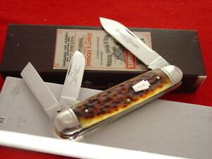 """Schatt & Morgan USA 2003 043299Bone Split Spring 3-3/4"""" whittler knife MIB ld"""