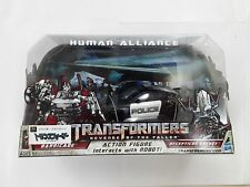 TRANSFORMERS Barricade & Decepticon Frenzy HUMAN ALLIANCE RD-24 ROBOT FIGURE TOY