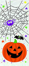 20 HALLOWEEN Pumpkin Pals cellophane Treat Bags CELLO Party bags trick or treat