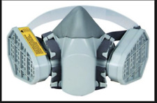 6100 Chemicalgas Spray Paint Mask Respirator Cartridgesusa Built In Filters
