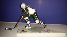 MARIAN GABORIK Minnesota Wild Autographed Signed McFarlane NHL Hockey Figure COA