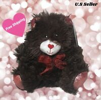 Valentine's Chocolate-Scented Plush Sitting Bears, 7 in. For The One You Love!