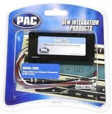 PAC SNI-35 Line Output Converter 2/4 Ch Amplifier