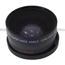 0.45x 55mm 55 mm macro conversion & wide angle Lens with 62mm front thread black