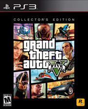 Grand Theft Auto V -- Collector's Edition (Sony PlayStation 3, 2013) NO DLC