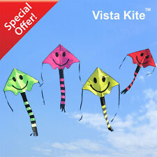 Vista Kite™ - 4 Smiley Face Kites Pack Deal