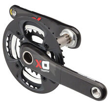 SRAM Truvativ X0 AM 2x10 Speed MTB Carbon Crankset Black/Red - 24/38 170mm