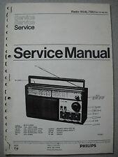 Philips 90 AL780 Kofferradio Service Manual