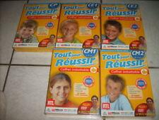 18236 // TOUT POUR RÉUSSIR SON CM1 1 CD ROM + 1 DVD QUIZ INTERAC NEUF