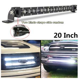 180W 18000LM 6500K Xenon White 6D Spot Beam Slim LED Work Light Bar For Car SUV
