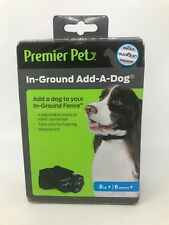 Premier Pet In-Ground Add-A-Dog Collar with Tone Beep Static Correct Waterproof