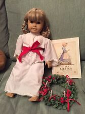 American Girl Doll Kirsten's St. Lucia Dress and Head Wreath