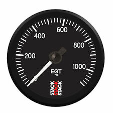 Stack 0-1100 Deg C Pro Stepper Motor Exhaust Gas Temperature EGT Gauge 52mm 3313