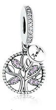New European Silver CZ Charm Beads Fit sterling 925 Necklace Bracelet Chain c95j